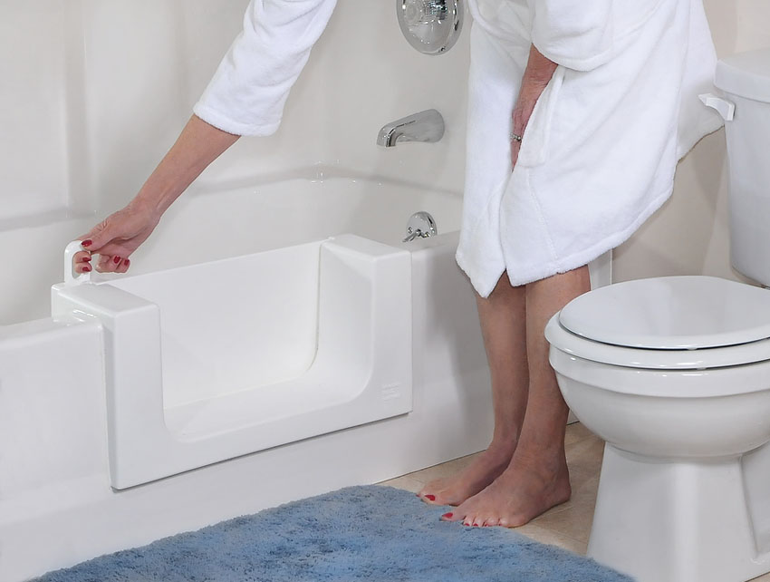 Walk in Tub Conversions - Denver Tub and Bathroom Repairs