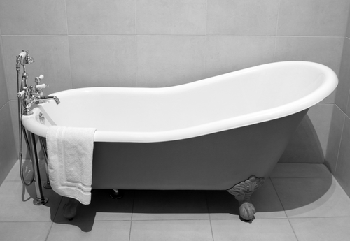 Here are some odd products for bathrooms we've run across. Ready to make a good bathroom investment? Bathtub refinishing is the way to go.