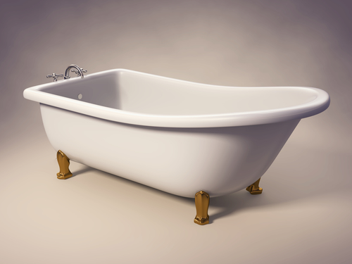 Refinishing Process for Cast Iron Tubs